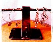 Handmade Metal Jewelry Tree / Jewelry Stand / Jewelry Display / Jewelry Rack, Unique Bracelet / Ring Organizer / Jewelry Organizer