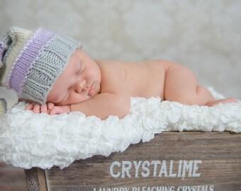 READY TO SHIP~~~~Sandman Newborn Stocking Knit Hat