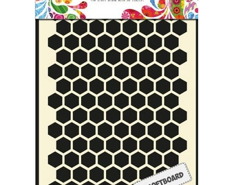 Honeycomb Softboard - Laser Cut Hexagons - Looks like unfinished wood - Spray or leave natural - Adds texture and dimension - Cuts Easy