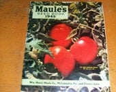 Wm Maule Company 1946  Seed Book, Philadelphia and Clinton Iowa