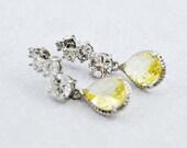 Silver Dangle Earrings, W...
