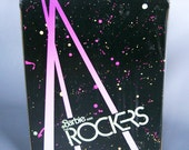 Vintage 1985 Barbie and the Rockers Doll Case