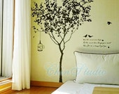 Vinyl wall decals tree decals wall stickers nursery wall decals-Classic tree wall arts