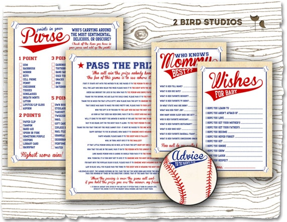 baby shower games bundle baseball baby shower games wishes for baby