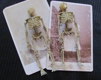 Dead Little Men - Pair of Skeleton Refrigerator Magnets