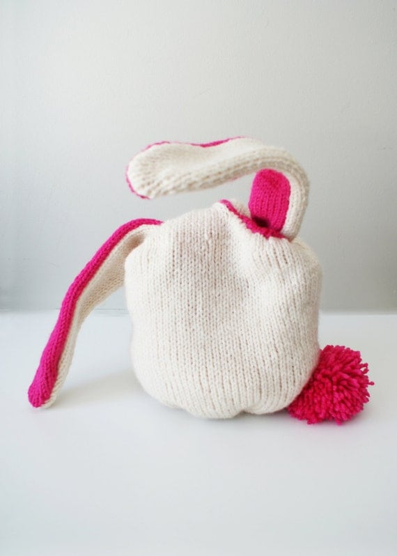 Knitting Inspirations Perth : Diy knitting pattern knit bunny baskets in small quot and