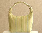 Lunch Bag, Fabric Lunch Tote, Insulated Lunch Bag, Bento Lunch Bag,Lunch Bag for Women, Work Lunch Bag,Sage Green with Green and Blue Stripe