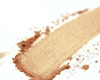 Salty Caramel . Mineral Eyeshadow . Mineral Eyeliner . Copper . Bronze . Metallic . Vegan . Loose Mineral Makeup . Handcrafted Cosmetics