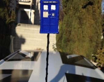 Doctor Who mini Tardis or Dalek car antenna toppers