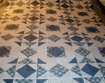 Jack Knife Twin Quilt
