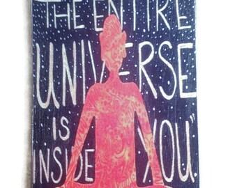 Inspirational Rumi Fridge Magnet