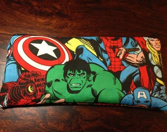 Superhero Coin Purse or Pencil/Makeup bag
