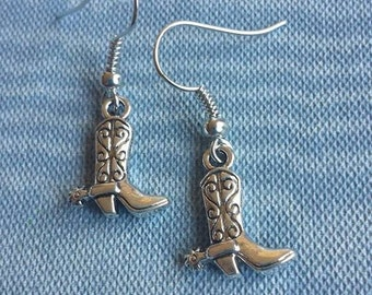 Cowboy / Cowgirl Boot Earrings