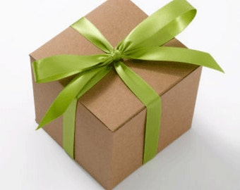 Optional Gift Wrapping -- Choose Your Ribbon