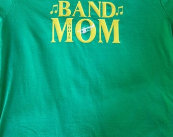 Band Mom Personalized T-shirt