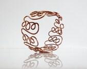 Unique Handmade Copper Bracelet