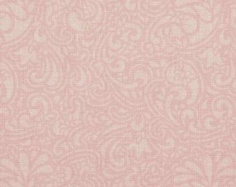Paisley Romance Pink Damask - Henry Glass - YARD