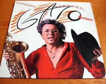 1979 Gato Barbieri Euphoria Record Album