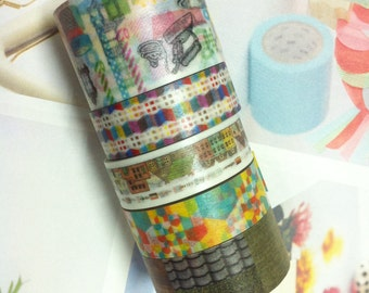 mt CASA at sft  Masking Tape / Limited Edition x  CASA at SFT  / 5 roll
