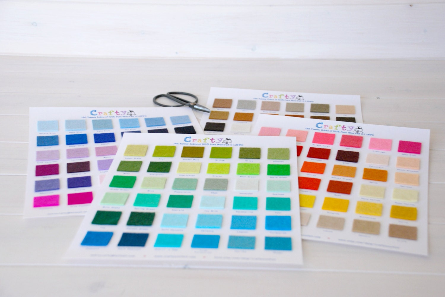 136 yummy colors 100 pure wool felt color chart beautiful 136 yummy colors 100 pure wool felt color chart beautiful colors felt chart wool felt swatch color chart with dmc matching codes nvjuhfo Choice Image