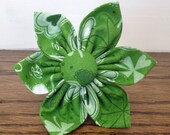 Cat or Dog Collar Flower - St. Patrick's Day