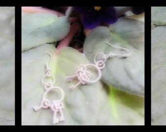 Earrings Keys