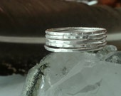 Sterling Silver Stacked Rings