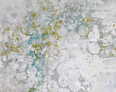 Abstract Painting. Original Canvas Art.  Bubbles.