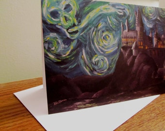 Harry Potter- Starry Night Card