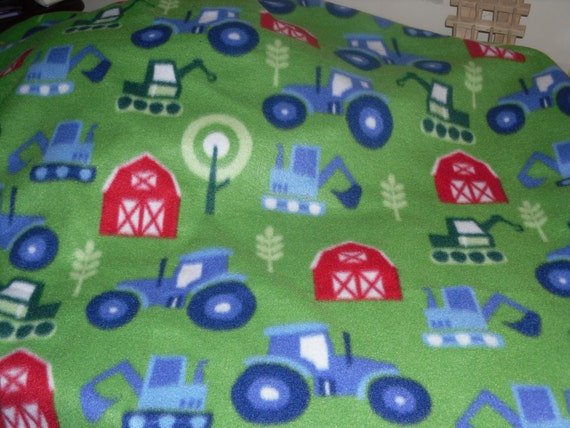 Baby Boy Fleece Tie Blanket Fleece Tie/ Throw Blanket Boy