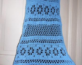 Crochet Skirt To Order Vintage Maxi cotton skirt Long Cotton Skirt Vintage Long Skirt Summer  New Hippie  FREE SHIPPING