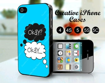 Funny case, Okay Okay fits iPhone 4, iPhone 4s, iPhone 5, iPhone 5s, iPhone 5C
