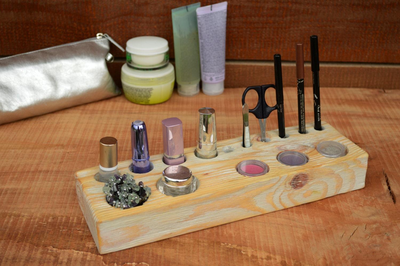 Valentines Day Gift Shabby Chic Cosmetic organizer Eco