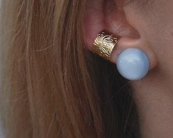 The Full Moon Earring Studs