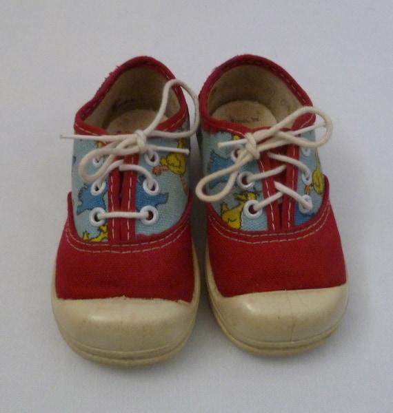 Vintage Sesame Street Toddler Shoes Willamaevintage