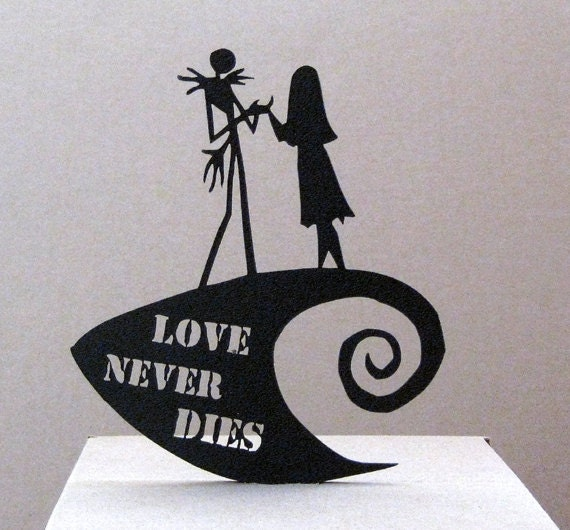 Wedding Cake Toppers Nightmare Before Christmas Topper The By