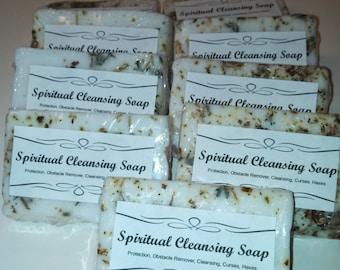 Spiritual Cleansing Soap , Voodoo, Hoodoo,Bath, Ritual, Ceremony, Spiritual, Conjure,