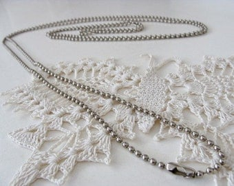 6 Foot Ball Chain Necklace Jewelry Supply