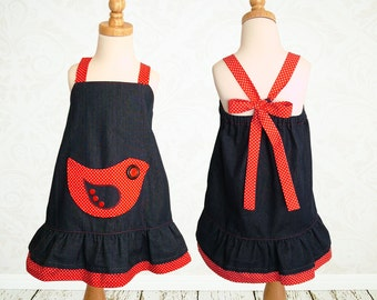 Girls dress pattern PDF, Childrens sewing pattern pdf, kids patterns, girls sewing pattern pdf, sewing pattern for girls, ROBIN DRESS