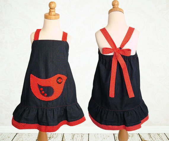 Girls dress pattern PDF, Childrens sewing pattern pdf, kids patterns, girls sewing pattern pdf, sewing pattern for girls, ROBIN DRESS