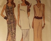 Vintage Vogue Easy Options Pattern 8689 Size 12, 14, 16