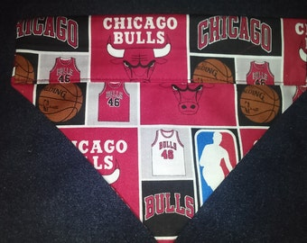 Chicago Bulls Dog Bandana!!