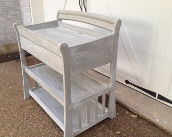Shabby Chic Changing Table