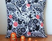 ON SALE: Handmade Folk Cushion Pillow With Zip Closure