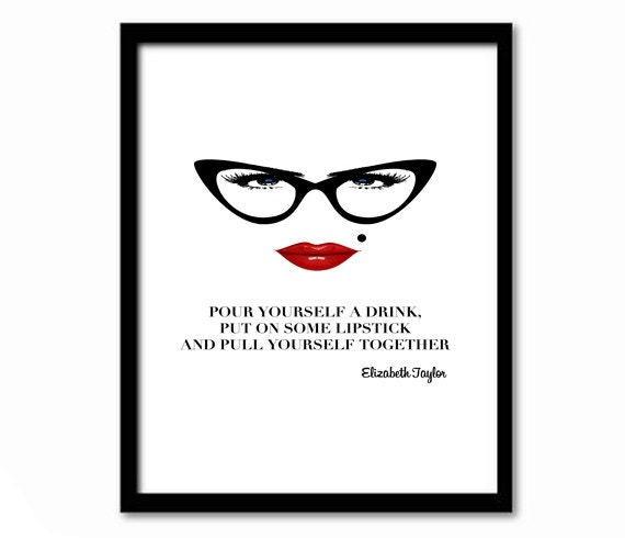 Inspirational Quote Wall Art for Women Sassy Quote Quote