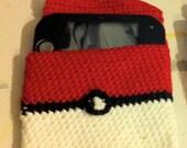 Nintendo 2DS Crochet Pokeball cosy