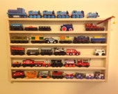 Train Rack - Thomas the Train storage rack - organization for wooden trains