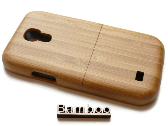 S4 mini bamboo case - Samsung Galaxy - wooden bamboo S4 mini case