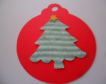 3 Inch Holiday Gift Tags