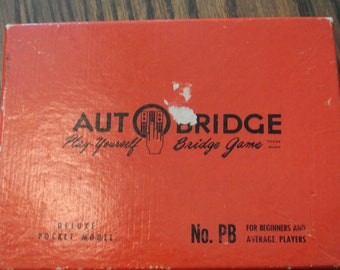 Auto Bridge Game Play Yourself For Beginner and Average Players